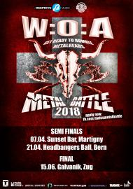 W:O:A Metal Battle 2018 - Semi final